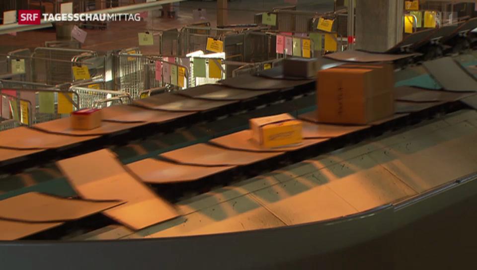 Post baut Kapazität in Paketzentren aus
