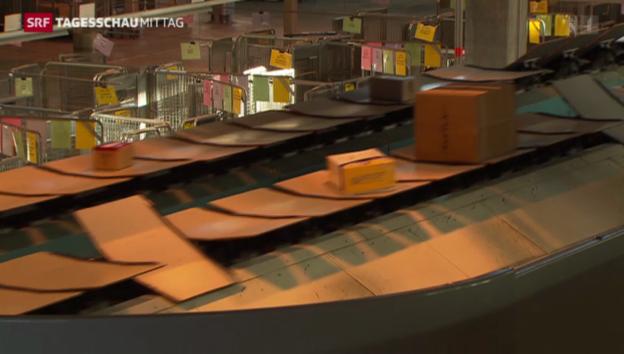Video «Post baut Kapazität in Paketzentren aus» abspielen