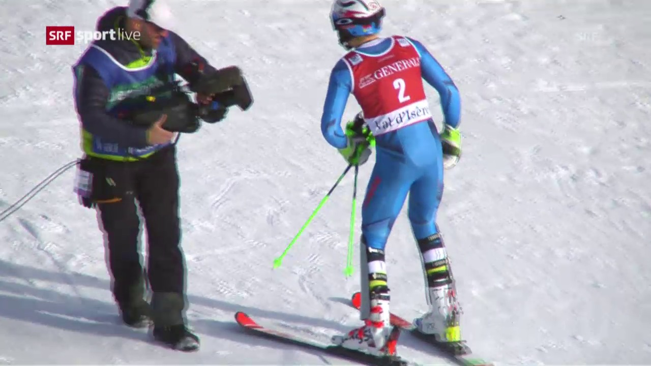 Kristoffersens Siegesfahrt in Val d'Isère