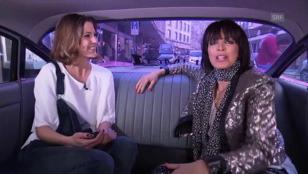 Video «Nena in der «G&G»-Limousine» abspielen