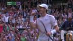 Video «Murray folgt Raonic in den Final» abspielen