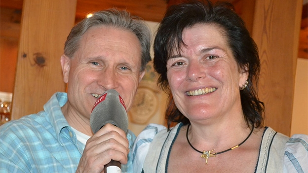 Irene Bodenmann-Meli war aktive Schwingerin