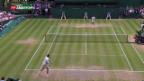 Video «Wimbledon-Aus für Federer» abspielen