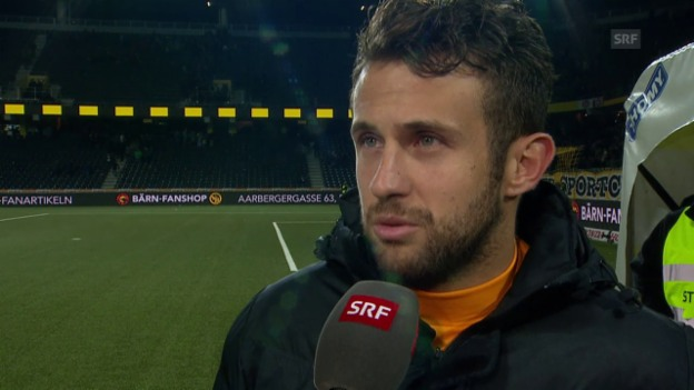 Video «Fussball: Super League, YB - Basel, Interview Sulejmani» abspielen