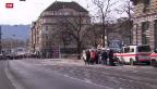 Video «Postüberfall nahe des Zürcher Bellevues» abspielen