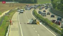 Video «Weniger Strassenverkehrsunfälle in der Schweiz» abspielen