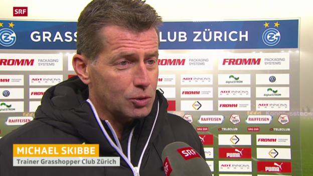 Video «Fussball: Stimmen zu GC - Luzern» abspielen
