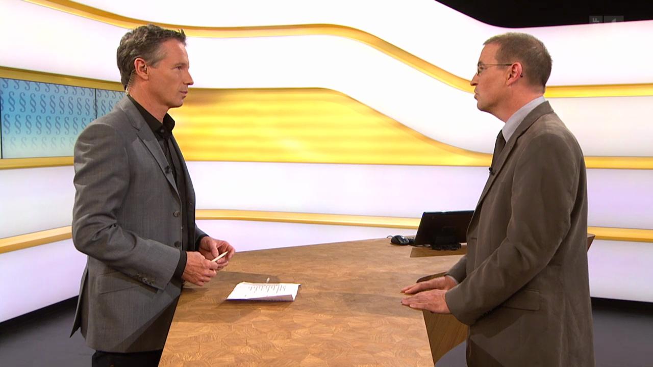 Studiogespräch mit Staatsanwalt Roland Meier
