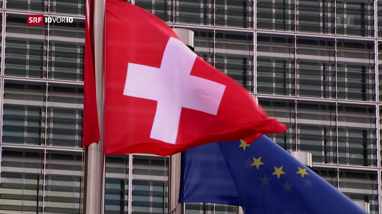 Druck der EU kommt in der Schweiz nicht gut an
