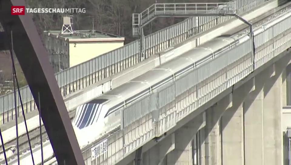 Schnellster Zug der Welt in Japan