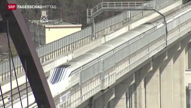 Video «Schnellster Zug der Welt in Japan» abspielen