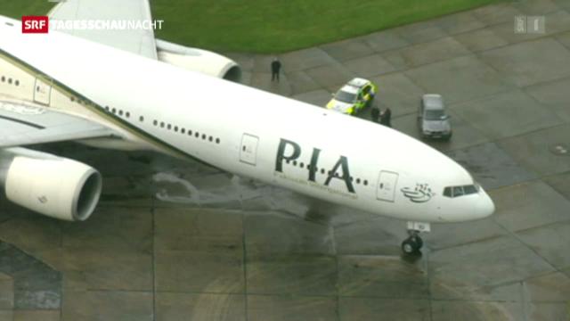 Zwischenfall im britischen Luftraum