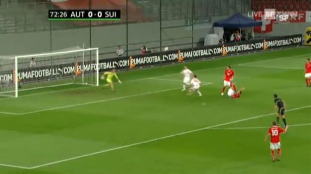 Video «Österreich-Schweiz: Highlights des Spiels» abspielen