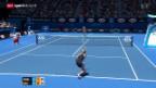 Video «Tennis: Australian Open, Bacsinszky - Muguruza» abspielen