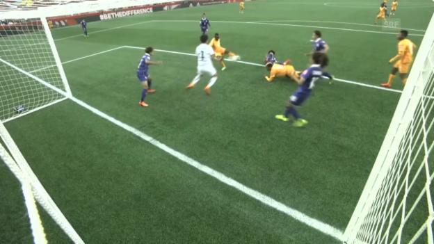 Video «Fussball: Frauen-WM, Elfenbeinküste - Thailand» abspielen