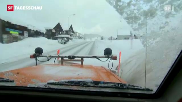 Dezember 2012: Wintermärchen Schweiz.