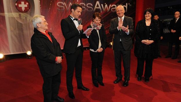 «Helden des Alltags»: Begrüssung aller Nominierten und Preisübergabe an Karin Boss-Röthlisberger