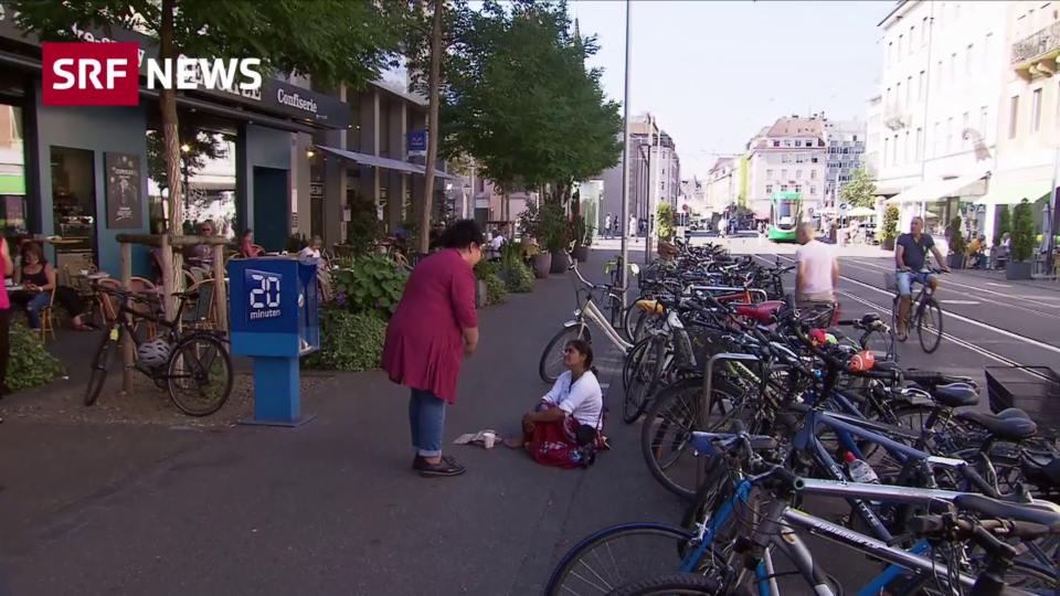 Sind die Bettler in Basel organisiert?