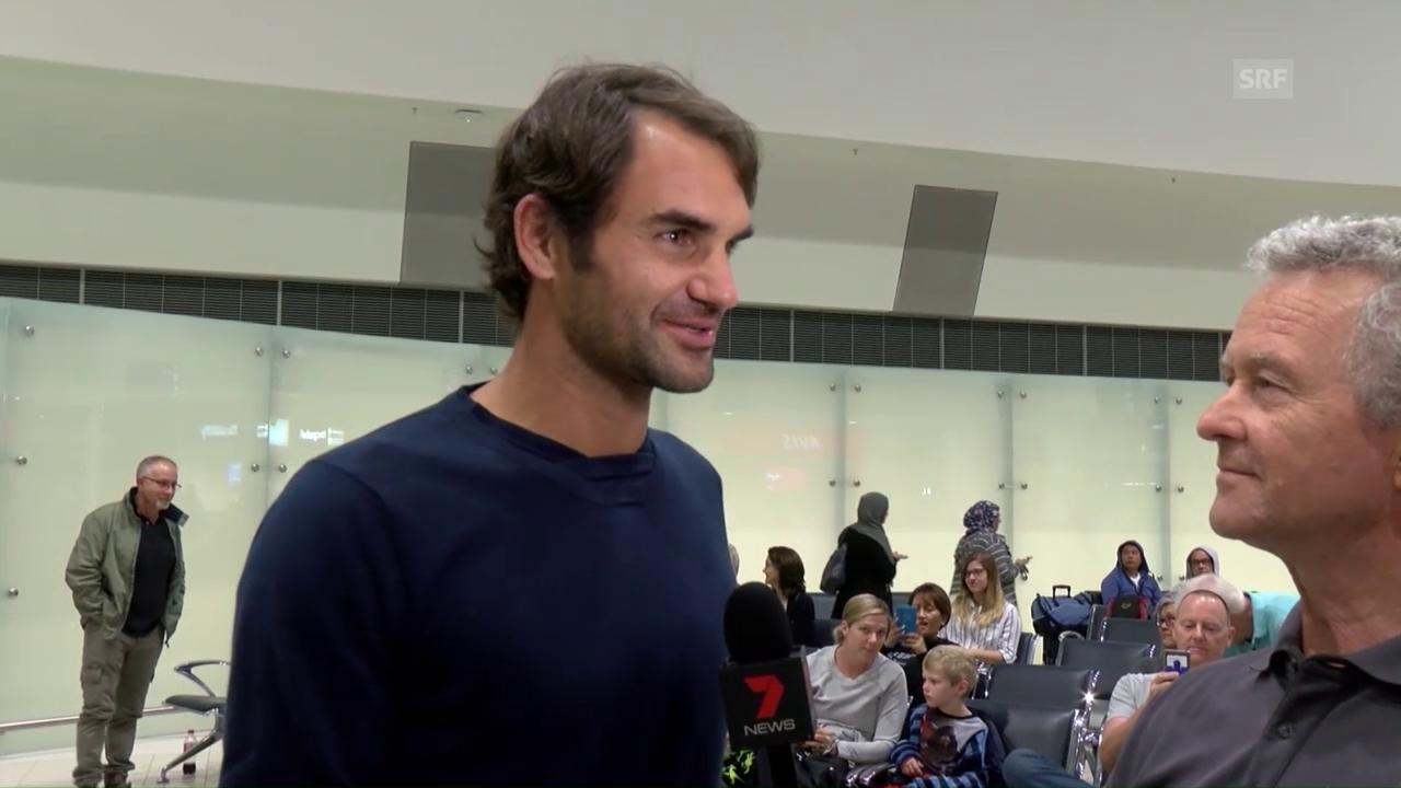 Federer: «Habe gehört, alles sei noch besser geworden»
