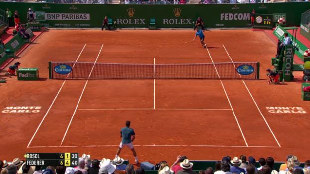 Video «Federer - Rosol: Die wichtigsten Punkte» abspielen