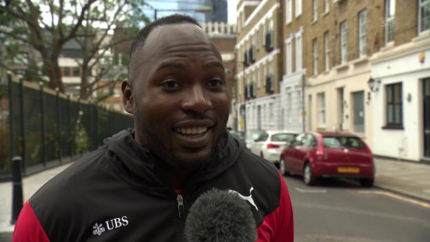 Video «Das sagen die Schweizer Athleten über Usain Bolt» abspielen