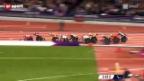 Video «Paralympics – Marcel Hug fordert den einheimischen Superstar David Weir heraus» abspielen