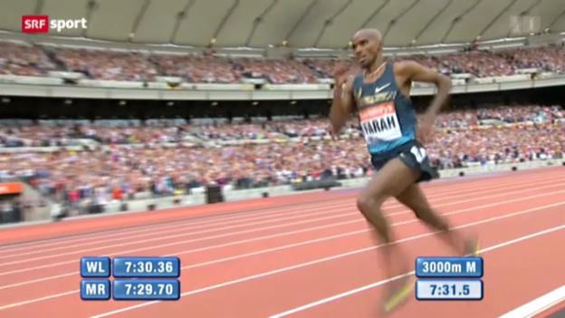 Video «Leichtathletik: Diamond League in London» abspielen