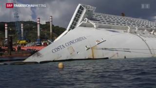 Video «Vor 2 Jahren kenterte die Costa Concordia» abspielen