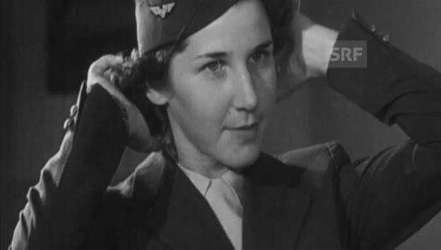 Video «Stewardessen werden Flügge» abspielen
