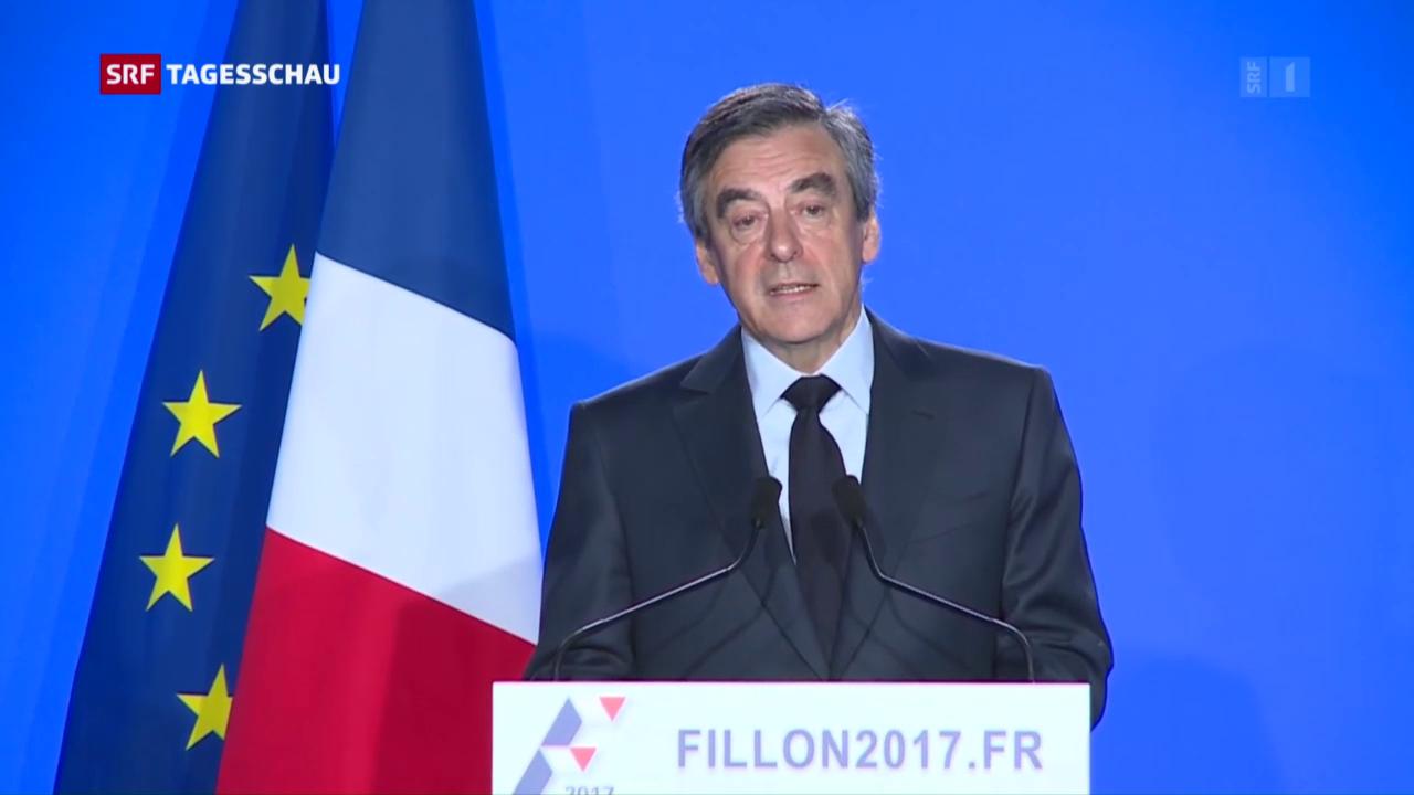 François Fillon gibt nicht auf