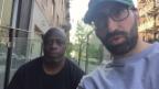 Video «David und Ray grüssen die Zuschauer in der Schweiz» abspielen