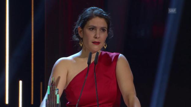 Video «Beren Tuna, beste Hauptdarstellerin» abspielen