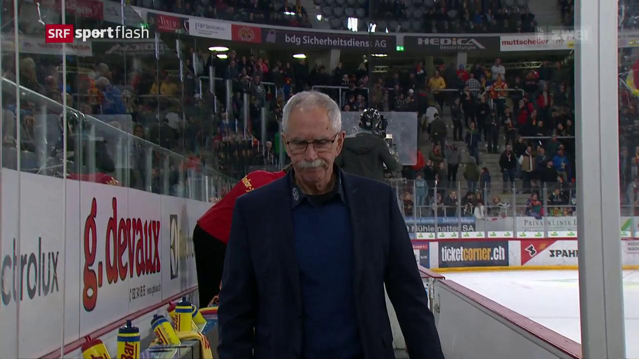 EHC Biel entlässt Trainer McNamara