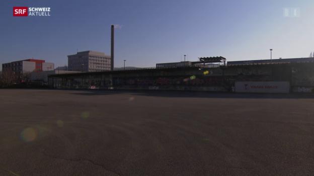 Video «Grösstes Flüchtlingszentrum in Muttenz geplant» abspielen