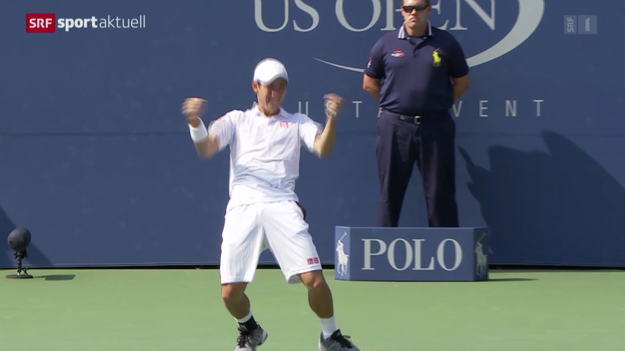 Nishikori mit sensationellem Finalvorstoss