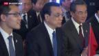 Video «Schweiz trifft China am WEF» abspielen
