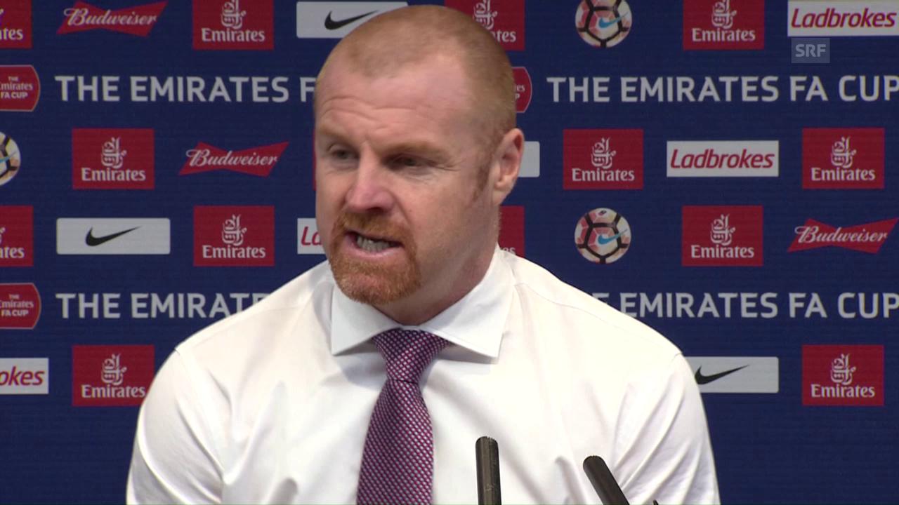 Burnley-Trainer Dyche: «Keine Entschuldigungen» (SNTV)