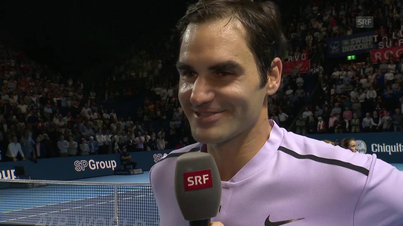 Federer über seine Stärken