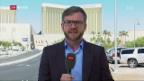 Video «FOKUS: Einschätzungen aus Las Vegas» abspielen