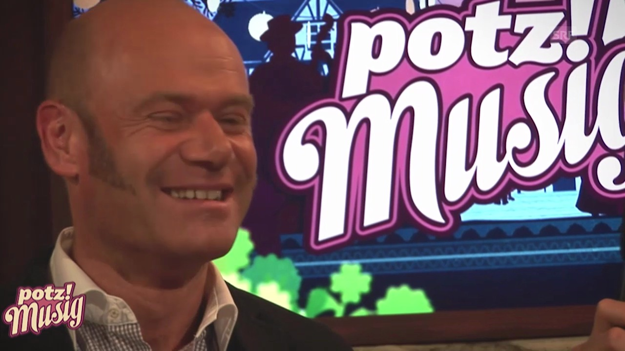 «Potzmusig» hinter den Kulissen: Pius Baumgartner