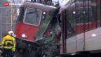 Video «Zugkollision bei Neuhausen» abspielen