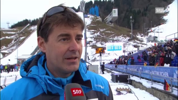Video «Interview mit Disziplinenchef Berni Schödler» abspielen