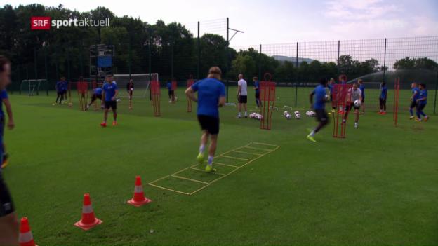 Video «Meister Basel vor dem Saisonstart» abspielen