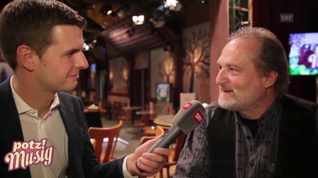 Video ««Potzmusig» hinter den Kulissen: Martin Sebastian» abspielen