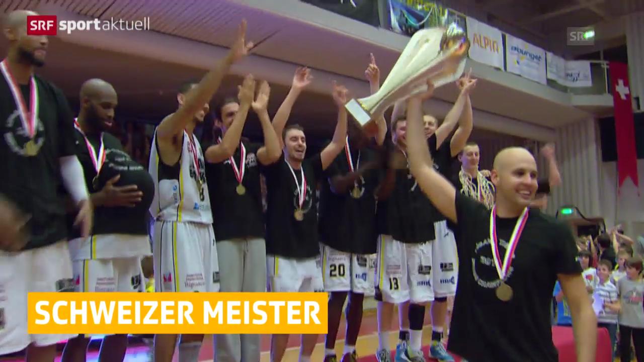 Basketball: Schweizer Meistertitel für die Lugano Tigers («sportaktuell»)