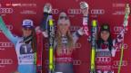 Video «Ski: Abfahrt Frauen in Garmisch» abspielen