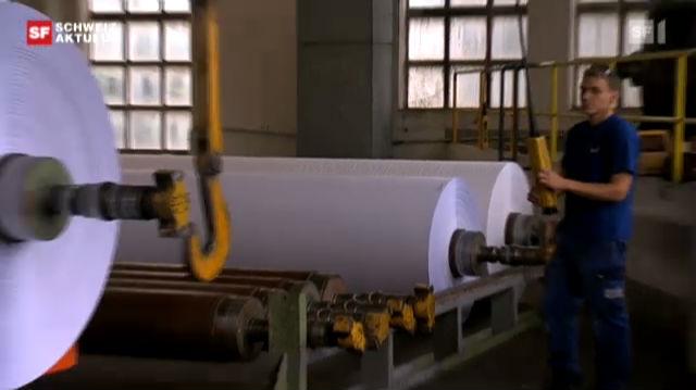 Aus für Papierfabrik Biberist