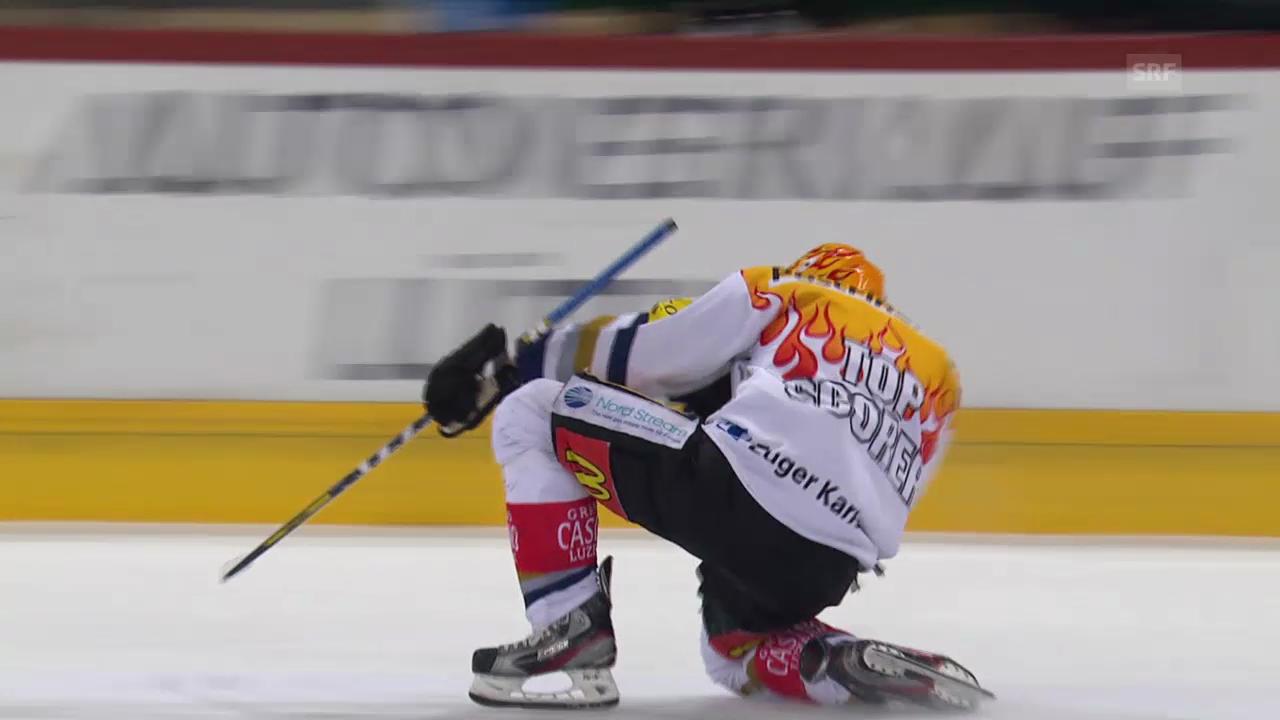 Eishockey: NLA, Damien Brunner