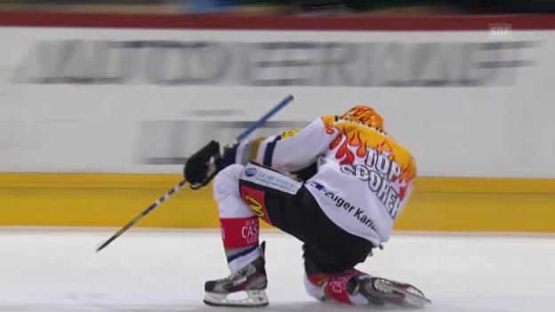 Video «Eishockey: NLA, Damien Brunner» abspielen