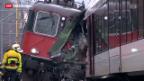 Video «Zugunglück in Neuhausen» abspielen